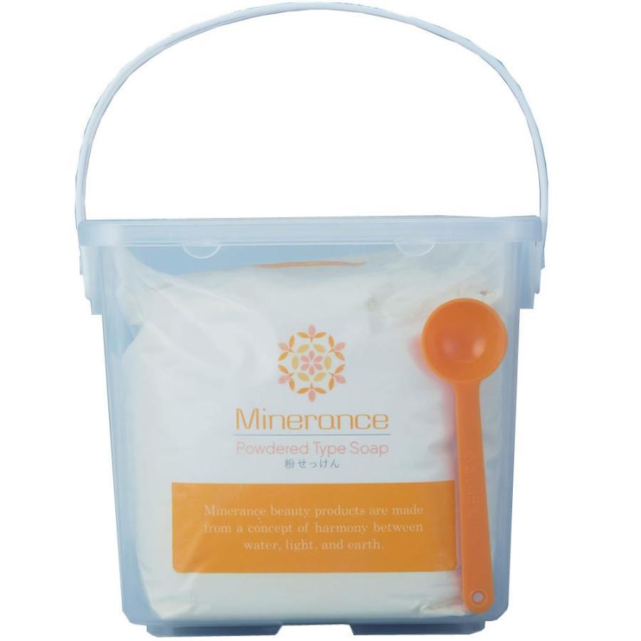 ミネランス粉石鹸 1kg 容器付|jes-mineral-honpo
