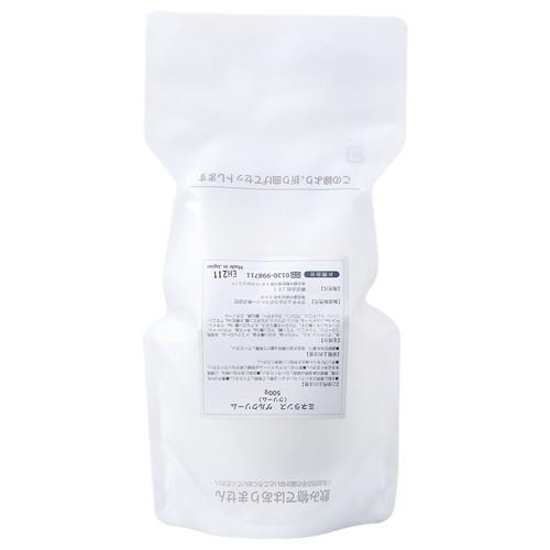 【詰替え用】ミネランスゲルクリーム500g※ミネランスゲル容器専用|jes-mineral-honpo