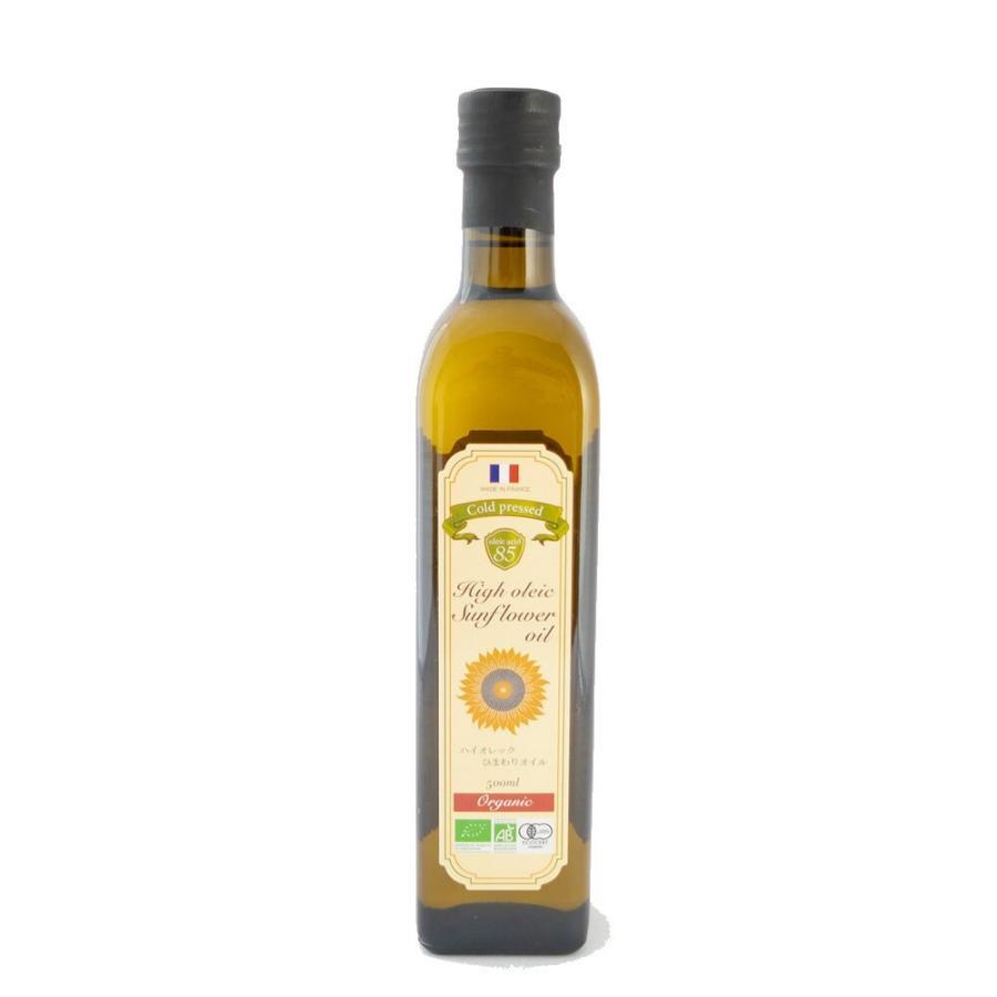 ハイオレック ひまわりオイル 500ml オレイン酸85%以上配合 食用油|jes-mineral-honpo