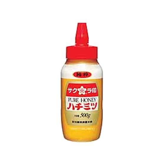 加藤美蜂園本舗/サクラ印 純粋ハチミツ(ポリ容器) 500g|jetprice