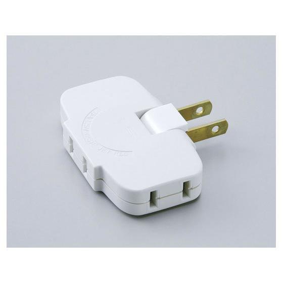 朝日電器/コーナータップ ホワイト 3個口/LP-A1536(W)|jetprice|02