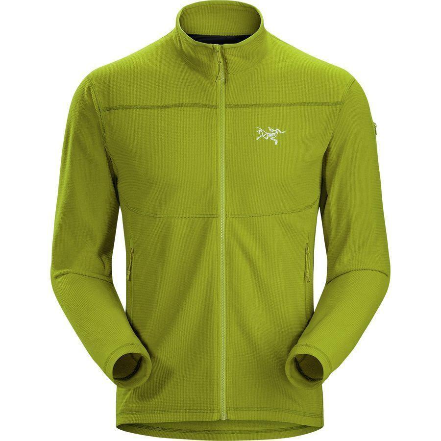 (取寄)アークテリクス メンズ デルタ LT フリース ジャケット Arc'teryx Men'sDelta LT Fleece Jacket Olive Amber