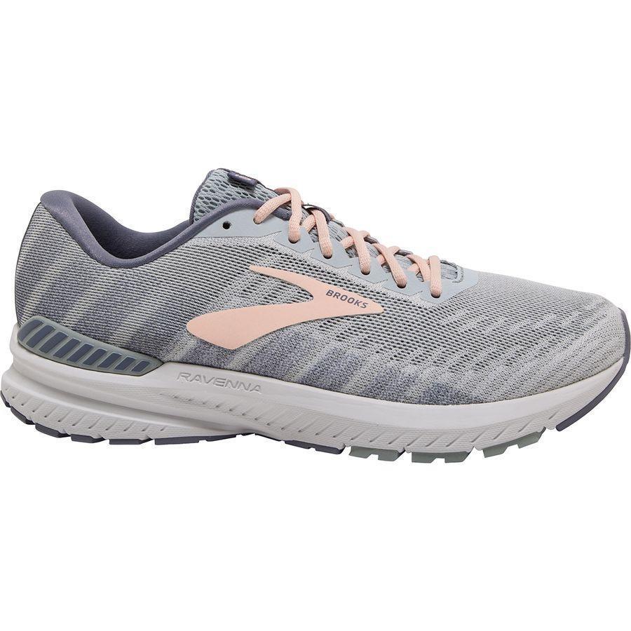 大人気の (取寄)ブルックス White/Grey/Pale レディース ラヴェンナ Women 10 ランニングシューズ Brooks Running Women Ravenna 10 Running Shoe White/Grey/Pale Peach, Abe Web Shop:8d6e43eb --- airmodconsu.dominiotemporario.com