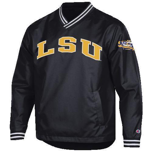 【驚きの値段で】 (取寄)チャンピオン メンズ カレッジ スカウト プルオーバー ジャケット LSU タイガース Champion Men's College Scout Pullover Jacket LSU タイガース Pu, 紳士靴ブランド専門シューズアマン 9cdcb374