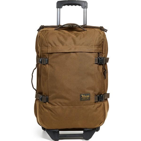 (取寄)FILSON Dryden 2 Wheel Carry On Suitcase フィルソン ドライデン 2 ホイール キャリー オン スーツケース Whiskey