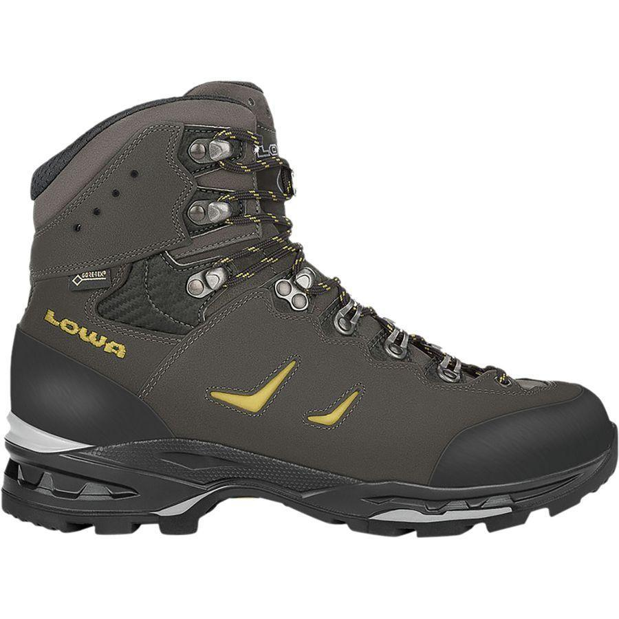 (取寄)ローバー メンズ カミノ Gtx フレックス バックパッキング ブーツ Lowa Men's Camino GTX Flex Backpacking Boot Anthracite/Kiwi