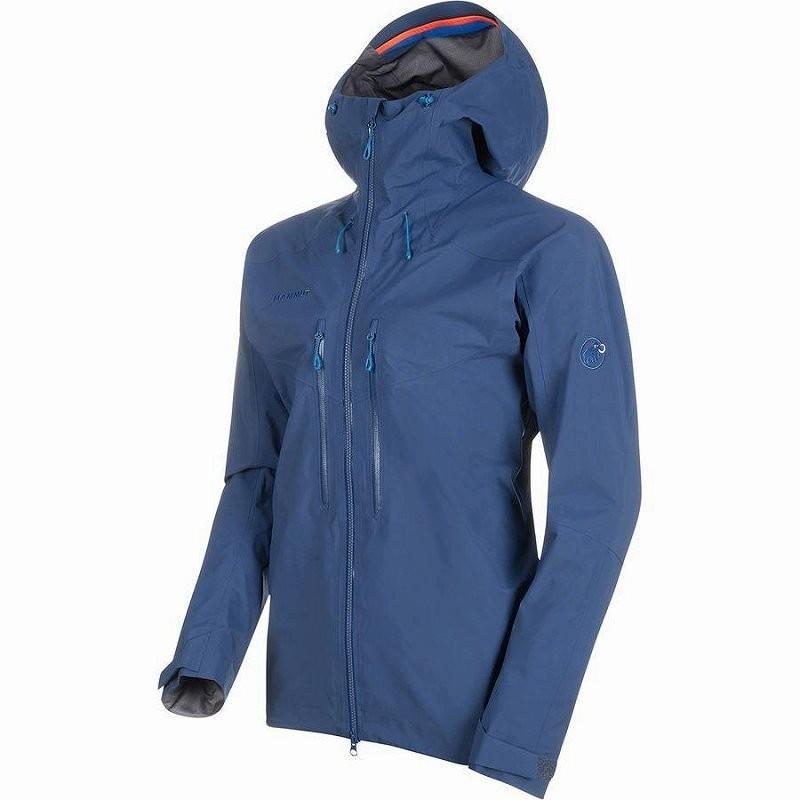 (取寄)マムート メンズ メロン HS フーデッド ジャケット Mammut Men's Meron HS Hooded Jacket Wing Teal