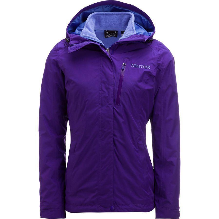 (取寄)マーモット レディース ランブル コンポーネント ジャケット Marmot Women Ramble Component Jacket Electric 紫の
