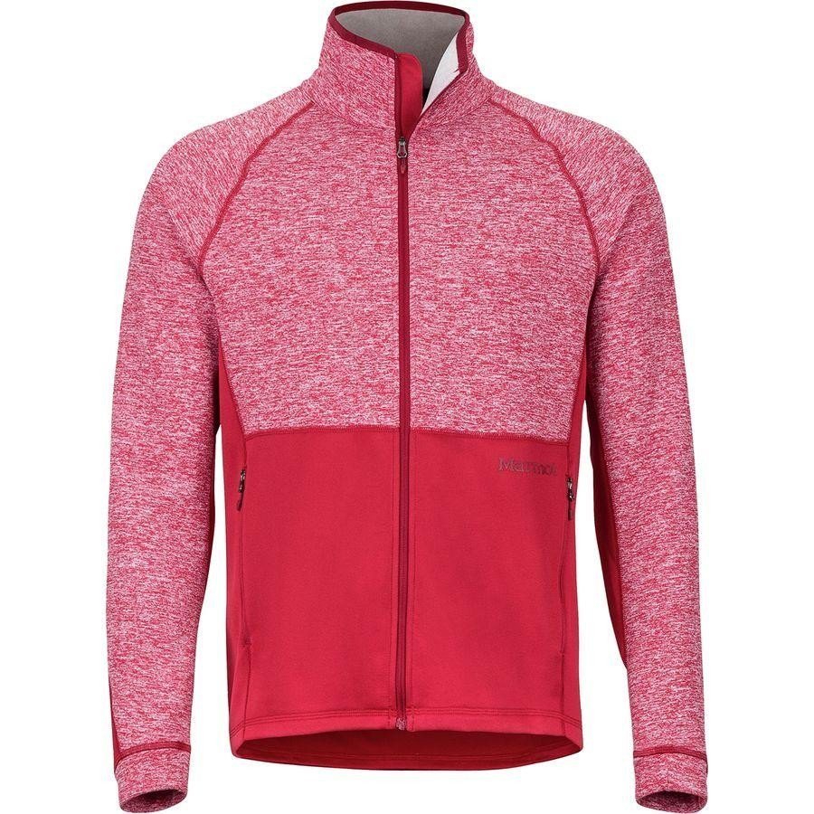 (取寄)マーモット メンズ メスカリート フリース ジャケット Marmot Men's Mescalito Fleece Jacket Sienna Red
