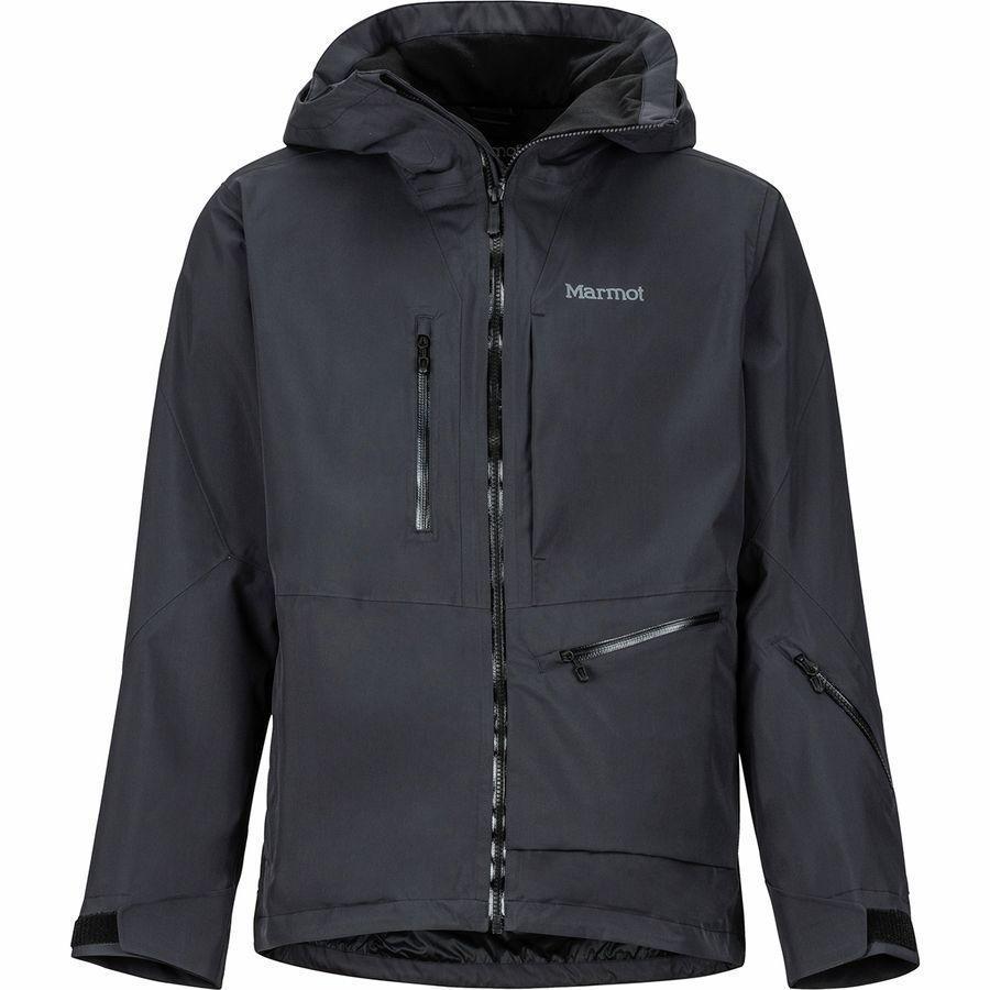 満点の (取寄)マーモット メンズ レフュージ ジャケット Marmot Men's Refuge Jacket Black, キラリネットショップ 50130205