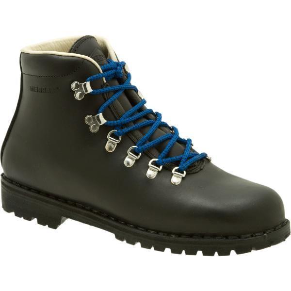 (取寄)メレル メンズ ウェルダネス USA バックパッキング ブーツ Merrell Men's Wilderness USA Backpacking Boot Black