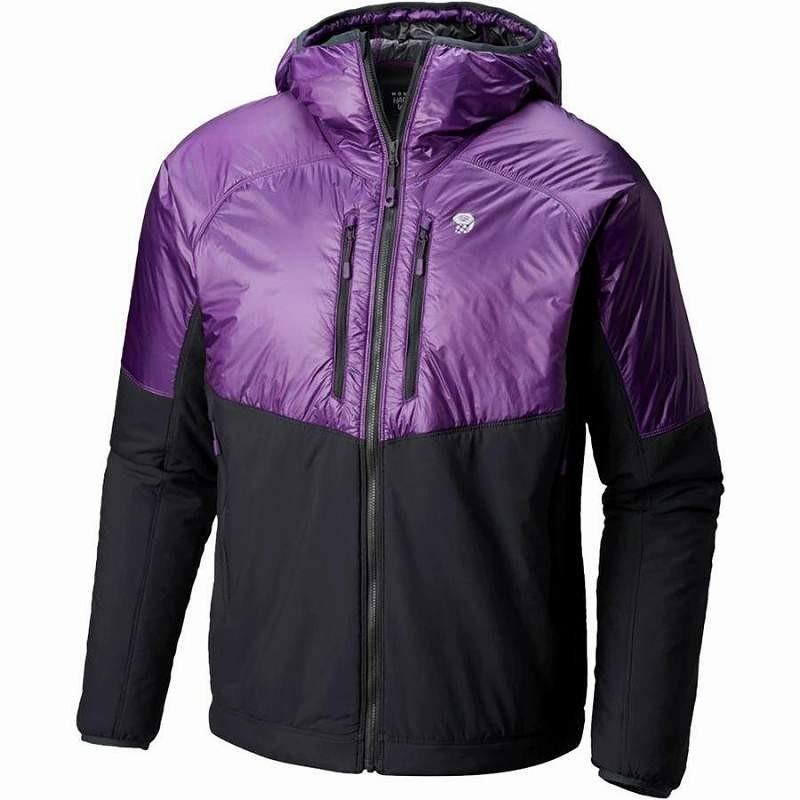(取寄)マウンテンハードウェア メンズ Korストラタ アルパイン フーデッド ジャケット Mountain Hardwear Men's Kor Strata Alpine Hooded Jacket Cosmos P