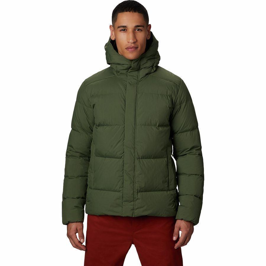 (取寄)マウンテンハードウェア メンズ グレイシャル ストーム ジャケット Mountain Hardwear Men's Glacial Storm Jacket Dark Army