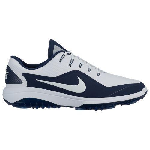 (取寄)ナイキ メンズ リアクト ヴェイパー 2 ゴルフ シューズ Nike Men's React Vapor 2 Golf Shoes White Metallic White Midnight Navy