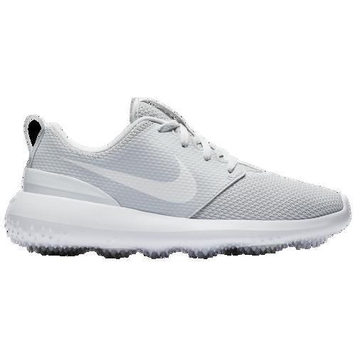 (取寄)ナイキ レディース ローシ G ゴルフ シューズ Nike Women's Roshe G Golf Shoes Pure Platinum 白い