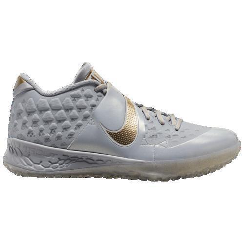 今季一番 (取寄)ナイキ メンズ Zoom フォース ズーム トラウト 6 Platinum ターフ Nike Pure Men's Force Zoom Trout 6 Turf Wolf Grey Metallic Gold Pure Platinum, ヒカワグン:e7ea1afe --- airmodconsu.dominiotemporario.com