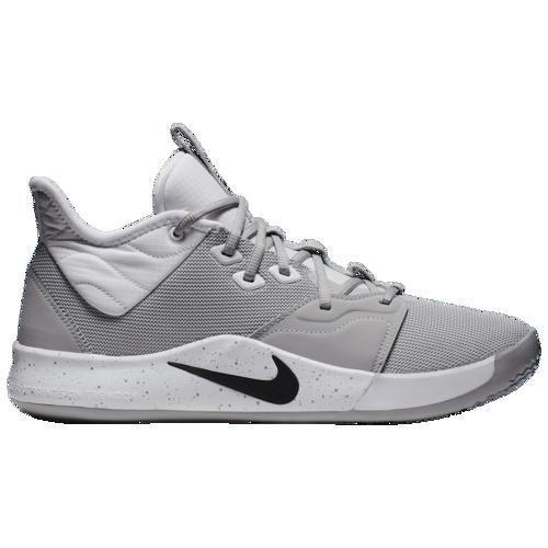 (取寄)ナイキ メンズ PG 3 Nike Men's PG 3 Wolf グレー 黒 白い