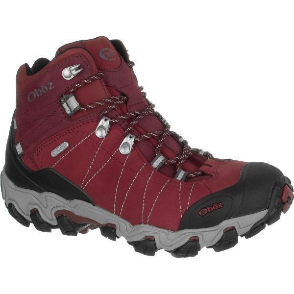 (取寄)オボズ レディース ブリッガー ミッド ビ-ドライ ハイキング ブーツ Oboz Women Bridger Mid BDry Hiking Boot Rio Red