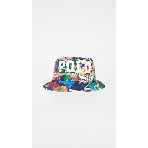 【50%OFF】 (取寄)ポロ (取寄)ポロ Bucket ラルフローレン チャリオット プリンテッド バケット ハット Polo Polo Ralph Lauren Chariots Printed Bucket Hat Multi, イナムラ:ea50181f --- sonpurmela.online