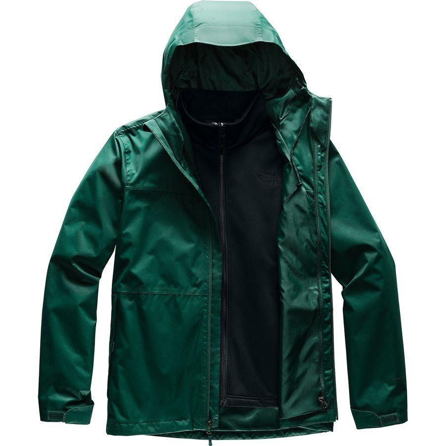 (取寄)ノースフェイス メンズ アロウッド トリクラメイト スリーインワン ジャケット The North Face Men's Arrowood Triclimate 3-in-1 Jacket Night Green