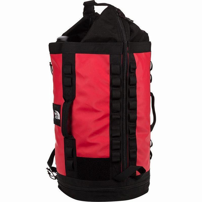 (取寄)ノースフェイスエクスプロア Haulaback 43.5L バッグ The North Face Men's Explore Haulaback 43.5L Bag Tnf Red/Tnf Black