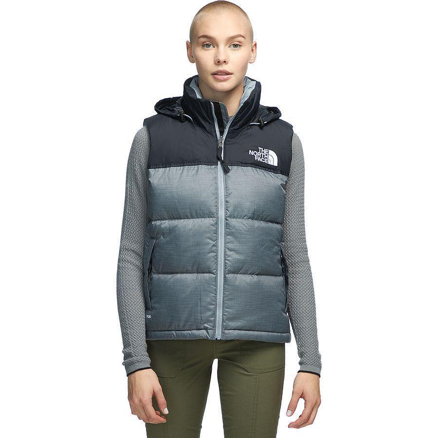 (取寄)ノースフェイス レディース 1996レトロ ヌプシ ベスト The North Face Women 1996 Retro Nuptse Vest Tnf Medium Grey Heather