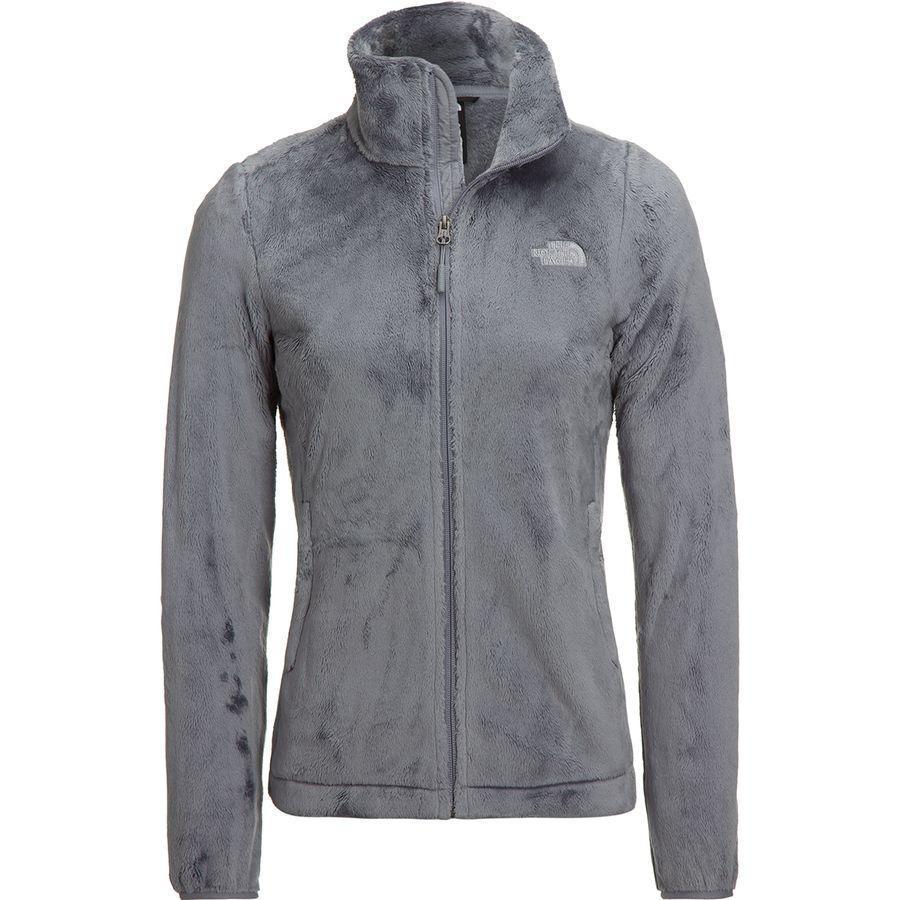 (取寄)ノースフェイス レディース Osito フリース ジャケット The North Face Women Osito Fleece Jacket Mid Grey