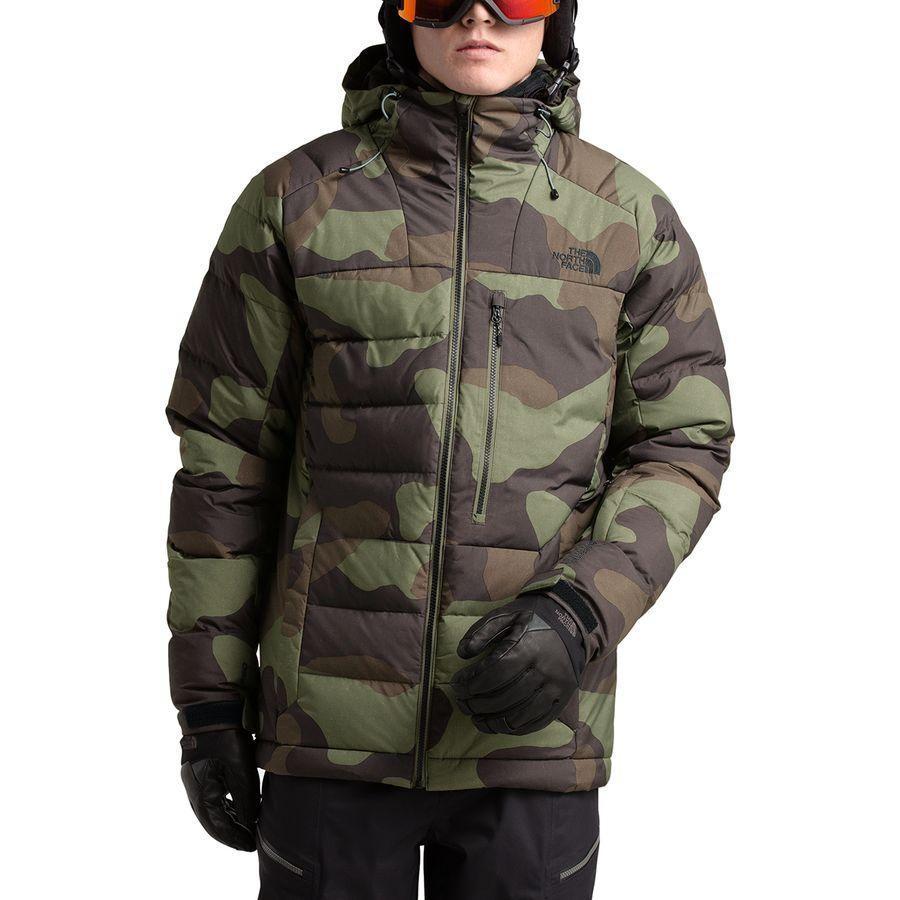 (取寄)ノースフェイス メンズ コアファイア ダウン ジャケット The North Face Men's Corefire Down Jacket Four Leaf Clover Terra Camo Print