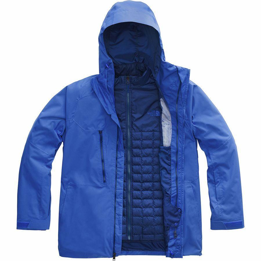 お気にいる (取寄)ノースフェイス メンズ ThermoBall エコ スノー トリクラメイト ジャケット The North Face Men's ThermoBall Eco Snow Triclimate Jacket Tnf Blue, ジェットラグ b3e8c755