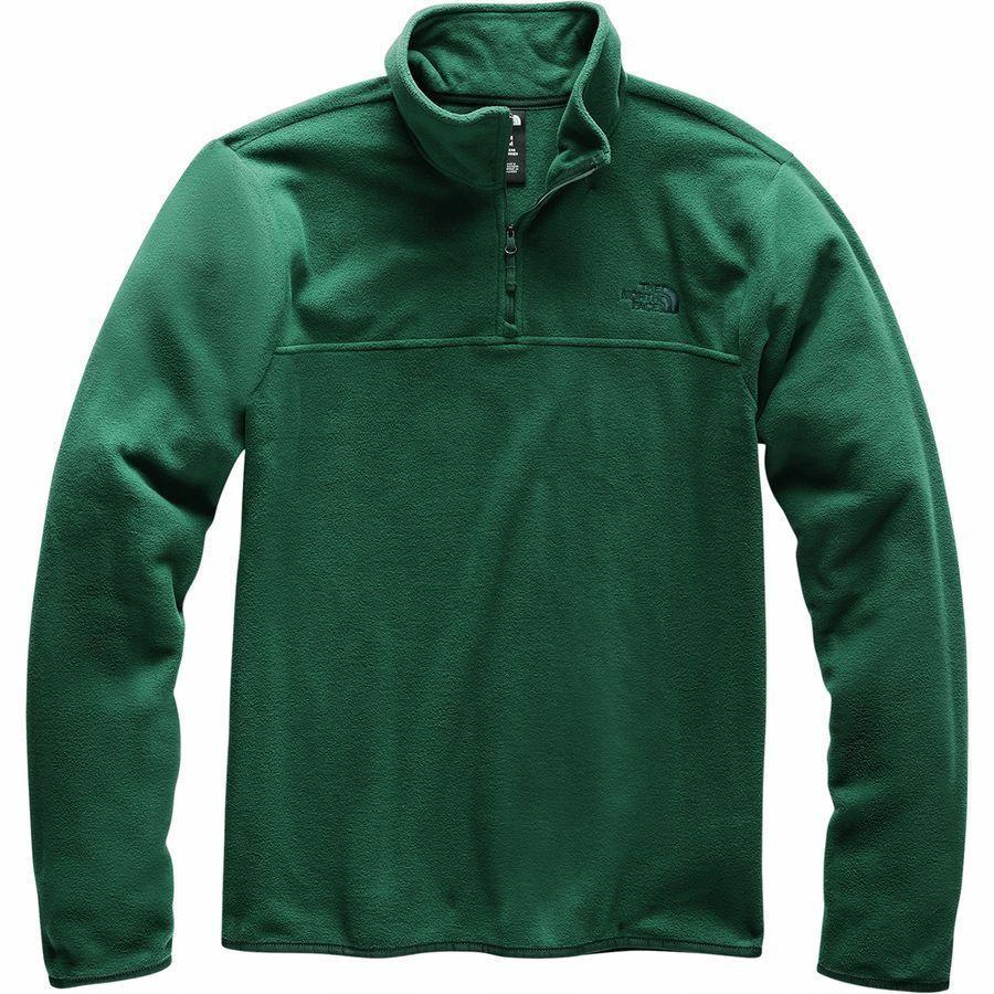 (取寄)ノースフェイス メンズ TKA グレイシャー 1/4-Zip フリース ジャケット The North Face Men's TKA Glacier 1/4-Zip Fleece Jacket Night 緑/Night