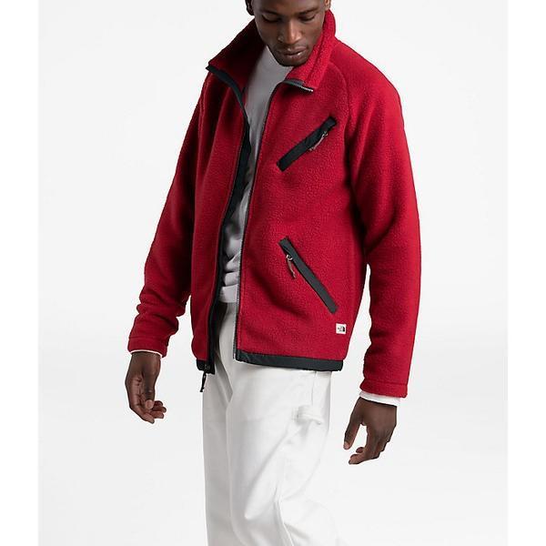 (取寄)ノースフェイス メンズ クラグモント フリース フル ジップ ジャケット The North Face Men's Cragmont Fleece Full Zip Jacket Cardinal Red