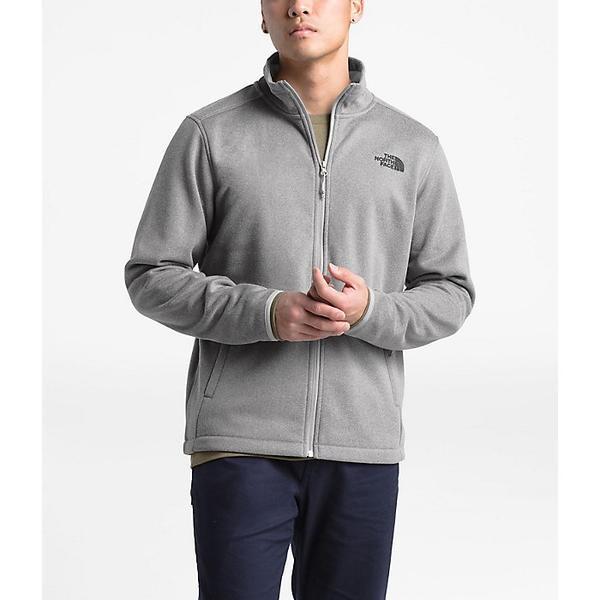 (取寄)ノースフェイス メンズ ウルバートン シェルパ フル ジップ ジャケット The North Face Men's Wolverton Sherpa Full Zip Jacket TNF Medium Grey He