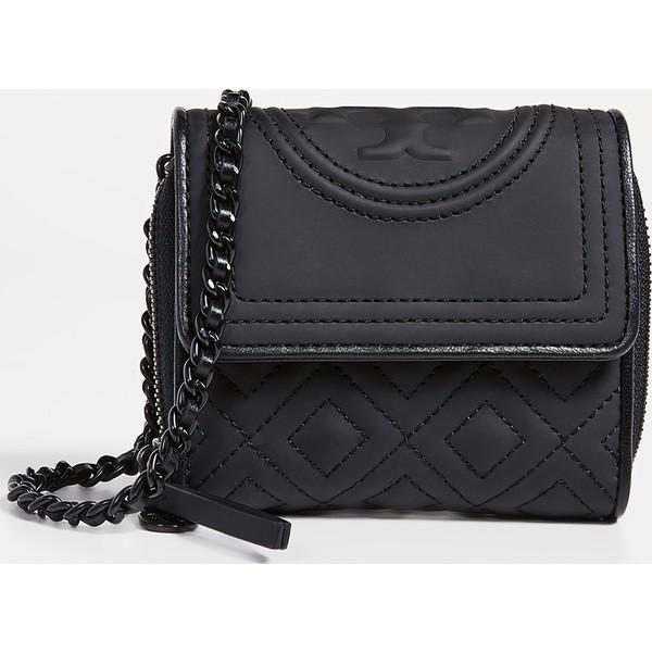 今季ブランド (取寄)トリーバーチ Burch フレミング マット Fleming ミニ チェイン ウォレット Tory Burch Fleming ミニ Matte Mini Chain Wallet Black, GreenLabel:c732d2b9 --- fresh-beauty.com.au