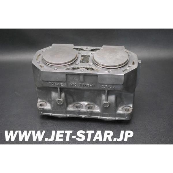 カワサキ SS(X-4) 1992年モデル 純正 シリンダー エンジン (11005-3720) 中古 [K669-034]
