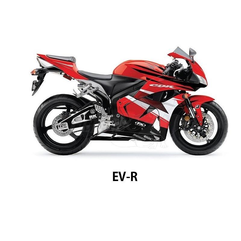 FACTORY-EFFEX(ファクトリーエフエックス) Hondaスポーツバイクプレカットグラフィックラップキット Honda CBR1000RR (12-13)|jetwave