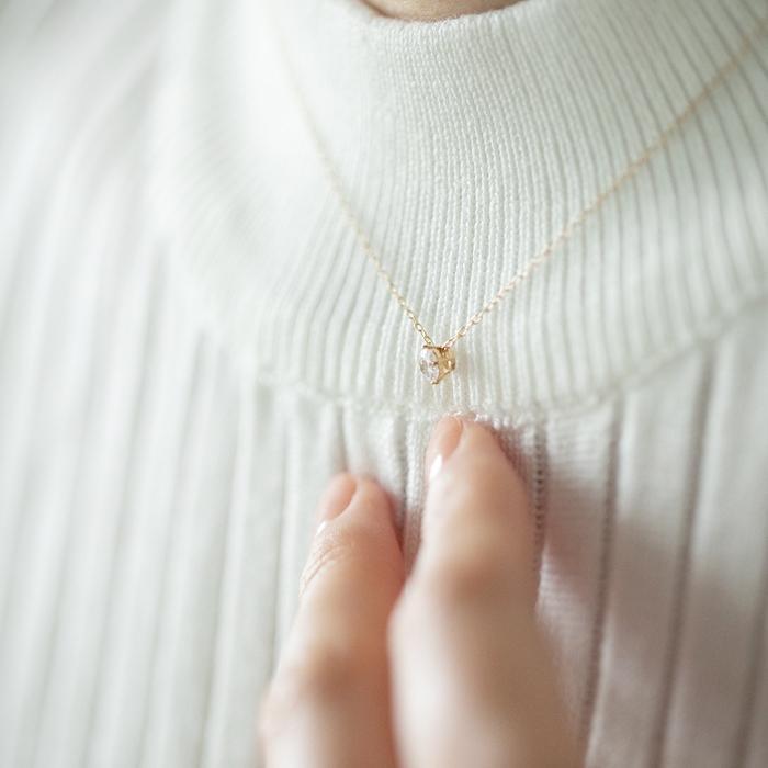 ネックレス レディース ペンダント ジュエリー プレゼント 一粒 選べる 15デザイン ゴールド プラチナ ピンクゴールド ホワイトデー 人気 ジュエルスター|jewel-star|13