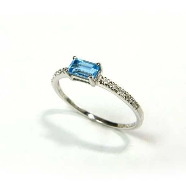 【正規品】 リング ブル−トパーズ 指輪 K18WG ブル−トパーズ ダイヤモンド 指輪 ダイヤモンド, セレクトショップFriends:77fd0211 --- taxreliefcentral.com