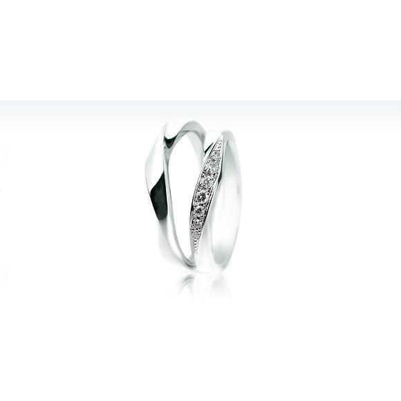 代引き手数料無料 マリッジリング 結婚指輪 サムシングブルー Something Blue プラチナ Pt900 Wrap Heart ラップハート SC-887, CoCo Ceylon ca8a4a32