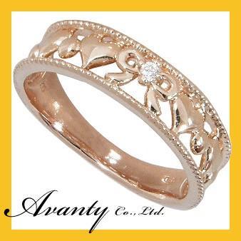 ふるさと納税 愛の絆を結ぶ蝶結びの アミュレット リボンハートピンキーリング ダイヤモンド0.01ct K10ピンクゴールドK10PGピンキーリング1号-7.5号(1号 2号 3号 4号, ゆりこのふとんやさん 9f41305b