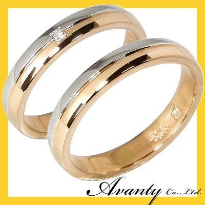【本日特価】 刻印無料 刻印無料 2本セット 2本セット プラチナ900 プラチナ900 K18PG プラチナマリッジリング結婚指輪, amax:2b1b3bac --- airmodconsu.dominiotemporario.com