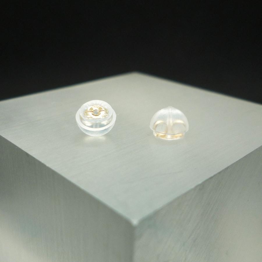 ピアス レディース 四つ葉 クローバー キュービックジルコニア (CZ) 10金 K10 jewelry-matumoto 04