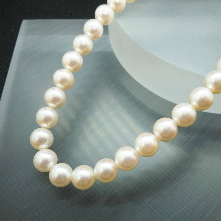 ネックレス レディース パール 真珠 フォーマル イアリング(K14WG) 連ネックレス セット|jewelry-matumoto|02