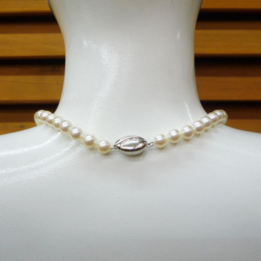 ネックレス レディース パール 真珠 フォーマル イアリング(K14WG) 連ネックレス セット|jewelry-matumoto|09