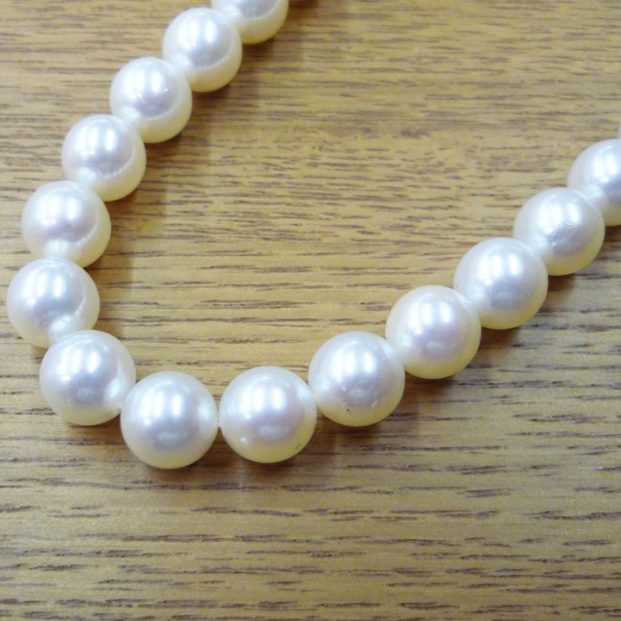 ネックレス レディース パール 真珠 フォーマル イアリング(K14WG) 連ネックレス セット|jewelry-matumoto|10