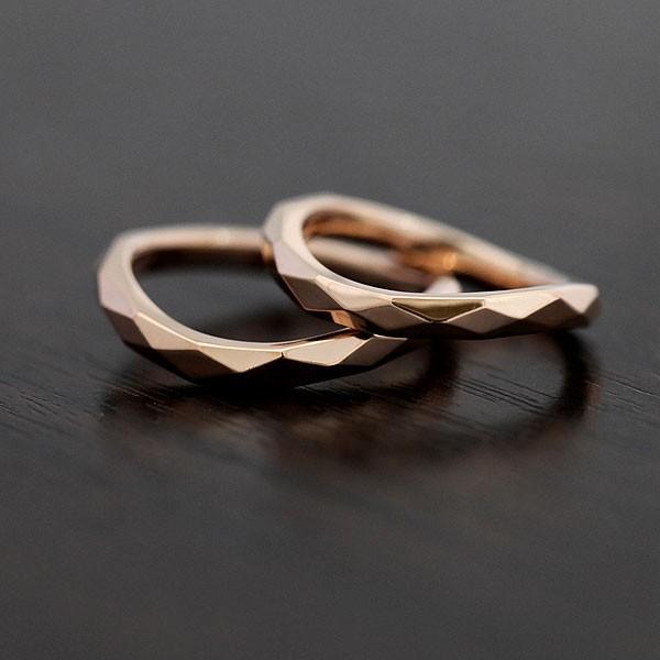 ー品販売  マリッジリング マリッジリング ミラーカット 結婚指輪 K18PG ペアリング K18PG ピンクゴールド ミラーカット, ミシン屋さん:cb7a7304 --- airmodconsu.dominiotemporario.com