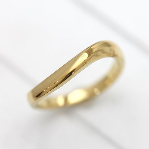 上品なスタイル マリッジリング 結婚指輪 K10YG シンプル ラインリング イエローゴールド メンズリング, ETFIL(エトフィル) 3c4b93d0