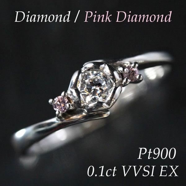 【年中無休】 エンゲージリング 婚約指輪 プラチナ PT900リング 天然ダイヤモンド0.1Ct以上 VVS1 エクセレント, 久留米市 109079c7
