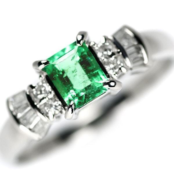 【お取り寄せ】 Pt900 エメラルド ダイヤモンド リング 0.39ct D0.20ctジュエリーNJ, R&Bミニカー 8c5637eb