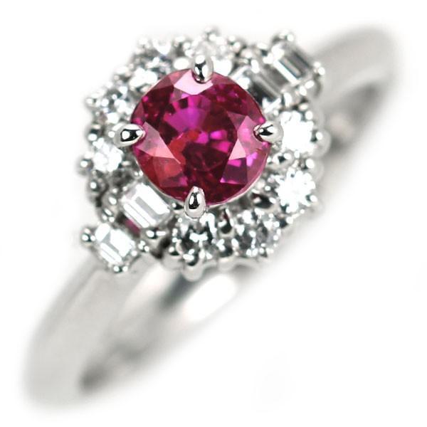 専門店では Pt900 ルビー ダイヤモンド リング 0.78ct D0.24ctジュエリーNJ, 財布 バッグ ショップ カッズ bf93221f