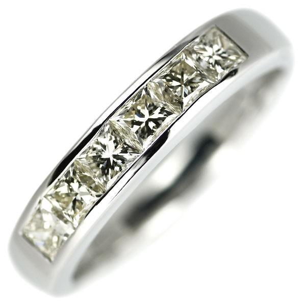 最適な価格 Pt900 プリンセスカット ダイヤモンド リング D1.00ctジュエリーNJ, アメカジ通販PlantzGarmentWorks 00732d15